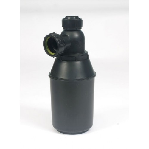 B681 Kemikaalien laimentaja / Kiinteän aineen kerääjä (sakanerotin, jätteenerotin) 2,3 L, YHDELLE ALTAALLE